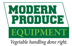 vegetable equipment, produce equipment, harvesting, packing machines