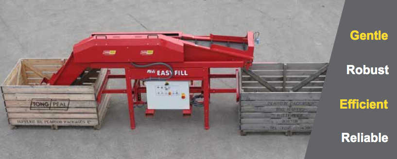 box fillers, modern produce equipment, produce box filler machines for sale